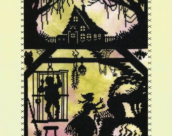 Bothy Threads Fairy Tales Hansel and Gretel Counted Cross Stitch Kit - 26x36cm
