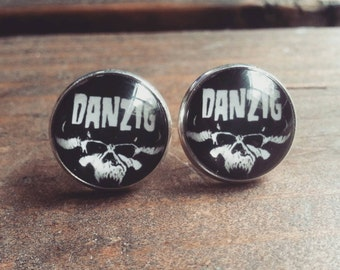 Danzig Stud Earrings