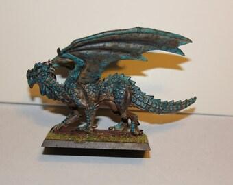 Painted Swamp Dragon Miniature