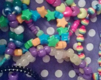Kandi bag- 10 Bracelets