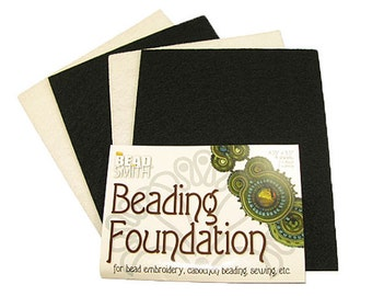 """Large Beading Foundation for Bead Embroidery, Cabochons, Sewing, etc. - 8.5"""" x 11"""""""