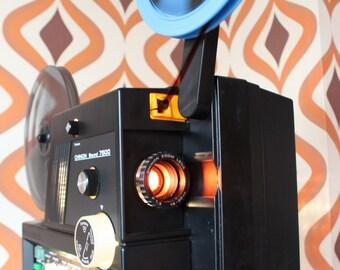 Chinon 7500 vintage retro super 8 8mm tape sound cine movie film projector 1970s