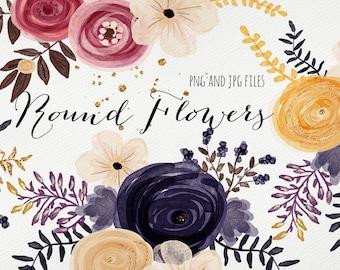 Round Flowers