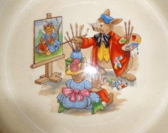 Bunnykins Porriage bowl