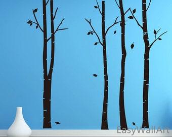 Birch Tree Decal   Etsy Part 98
