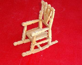 Rocking chair, center piece Part No. 1403-0