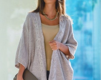 Stylish cardigan. Winter Autumn cardigan. Every day cardigan. Warm cardigan. Knitted cardigan.