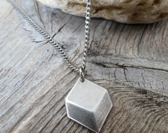 Men's Necklace - Men Silver Necklace - Men's Jewelry - Men's Gift - Men Jewelry - Men Necklace - Boyfriend Gift - Guys Necklace - Guys Gift