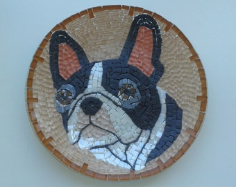 Plate with the dog from the mosaic