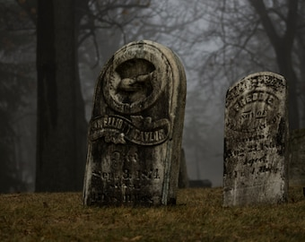 Ancient Graves in the Fog