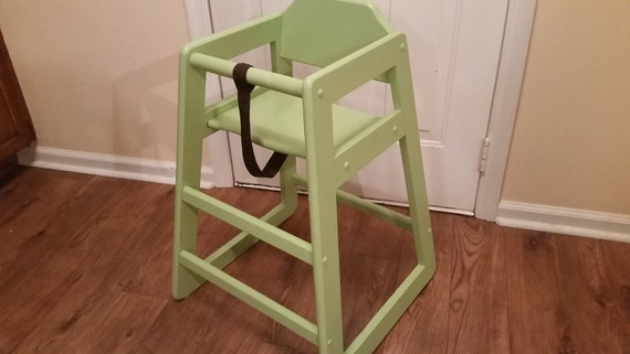 Items similar to toddler high chair pull up to table baby for Kids chair with name