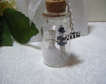 Gorgeous Handmade Mini Bottle Wedding Gifts or Favours