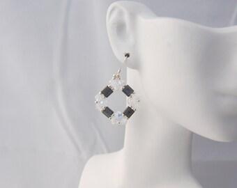Tila & Swarovski Crystal Earrings
