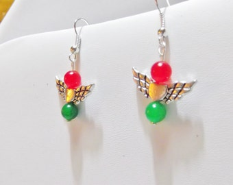Christmas / Angle earrings