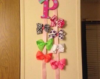 Custom Made HairBow Holder---Infant, Toddler, and Girl Bow Holder