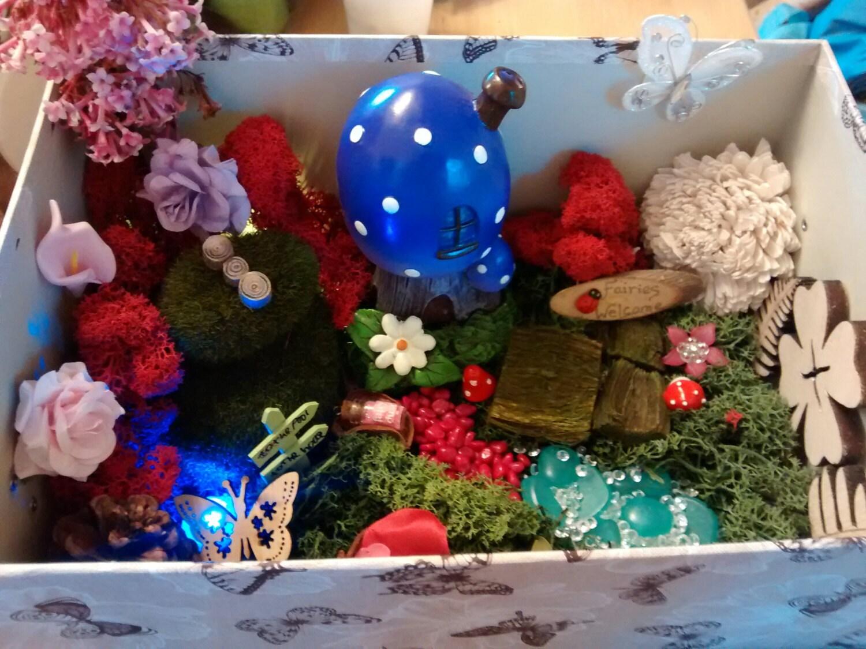 indoor fairy garden kit diy miniature garden kit with fairy. Black Bedroom Furniture Sets. Home Design Ideas