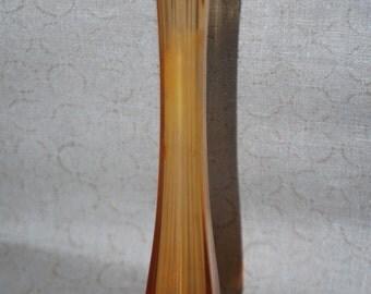 Gold Westmoreland Glass Bud Vase with Original Label