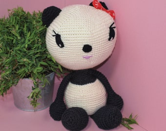 Crochet Pattern Luisa the Panda