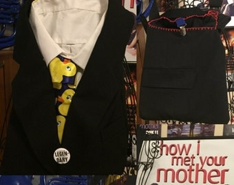 How I Met Your Mother Barney Stinson Ducky Tie Purse