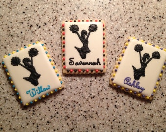 Custom Cheer Cookies