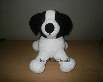 instructions crocheted dog