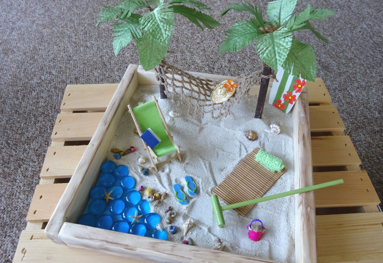 Miniature Beach Garden Diy Kit With By Jinnysminicreations