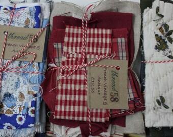 Vintage French Fabric Bundles