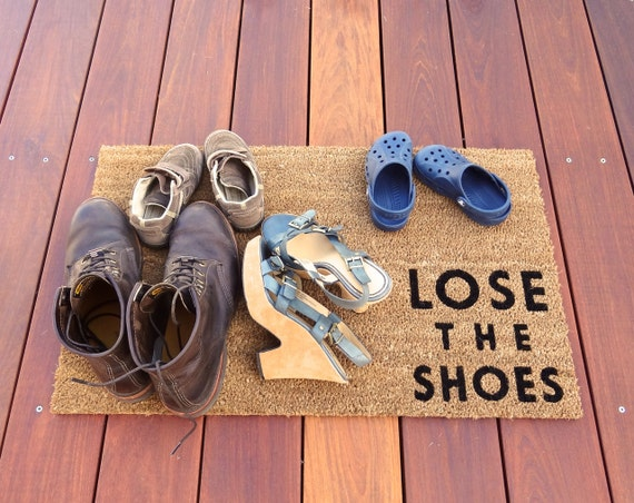 Lose the shoes doormat lets your guests know to by dichotomat - Remove shoes doormat ...