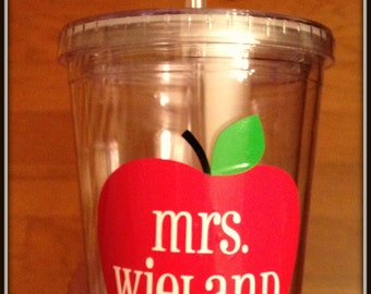 Teacher Tumbler, Teacher Gift, Gift for Teacher, Teacher Cup