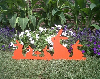 RABBITS 3D Tribe - borders. Interior and exterior decoration (PROMOTION 20%)