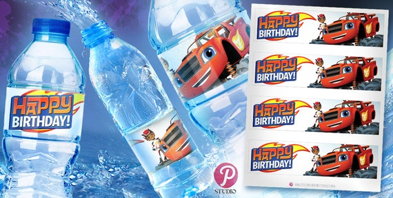 Blaze And The Monster Machines Birthday Water By
