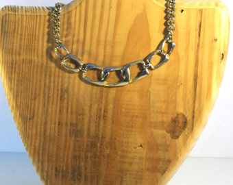 Reclaimed Wood Mannequin Necklace Jewelry Holder