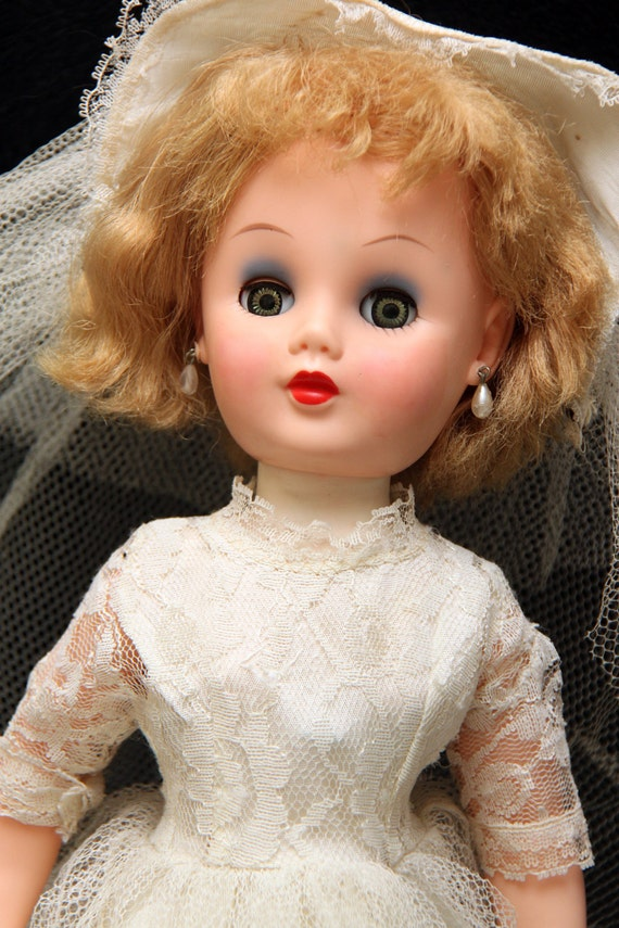 1950s Bride Doll Miss Revlon Style Magic Skin 19 Inches
