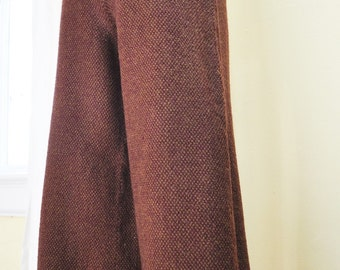 80s Wool Gaucho Trouser Pant, XS or S
