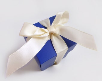 Royal Blue Wedding Favors   Wedding Favor Box   Navy Blue Wedding  Decorations   Candy Favor