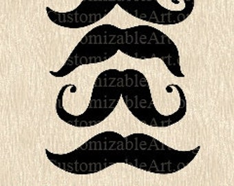 Printable Photobooth Props Digital Moustaches Printable Photo Booth Prop Clipart Clip Art Scrapbook Fun Printables Supplies Black Moustache