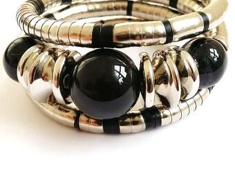 Black Mary Wired Bracelet (FREE Shipping Worldwide)