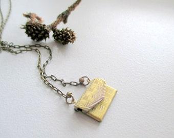 Envelope Necklace, Locket  Necklace,  Envelope Locket,  Envelope Jewelry  Envelope Necklace Secret,