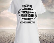 19th Birthday, 1996, birthday shirt, birthday gifts, birthday present, 19 years old, 19 year old birthday, birthday ideas, Original Since