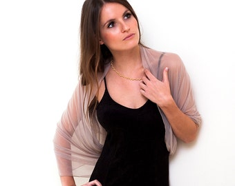 Plus size shawl with 4 wearing options- shawl, shrug, infinity scarf and crisscross (CF146)