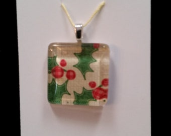 Unique glass pendants in a variety of shapes and patterns.