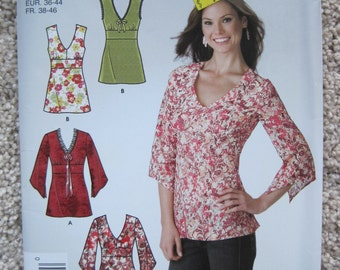 UNCUT Misses Tunic - Simplicity Sewing Pattern 3927