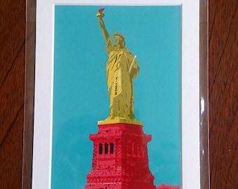 Statue of Liberty digital print