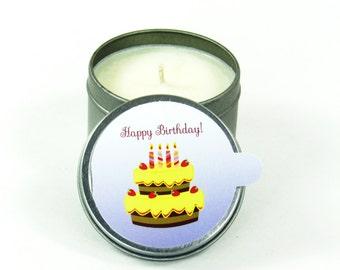 HAPPY BIRTHDAY ~ CardCandle Travel Tin