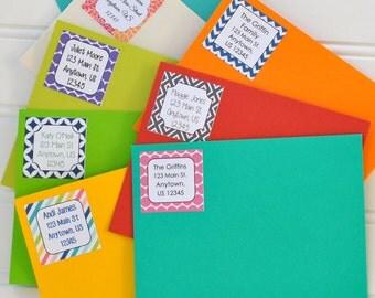 Return Address Label - Custom Address Label - Personalized Return Address Label - Set of 24 stickers