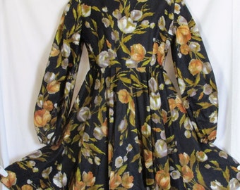 Vintage 1960s Patterned Dress