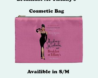 Audrey Hepburn's  Cosmetic Bag, Cosmetic Bag, Make Up Bag, Audrey, audrey hopborn