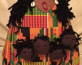 An African Storyteller Doll Art