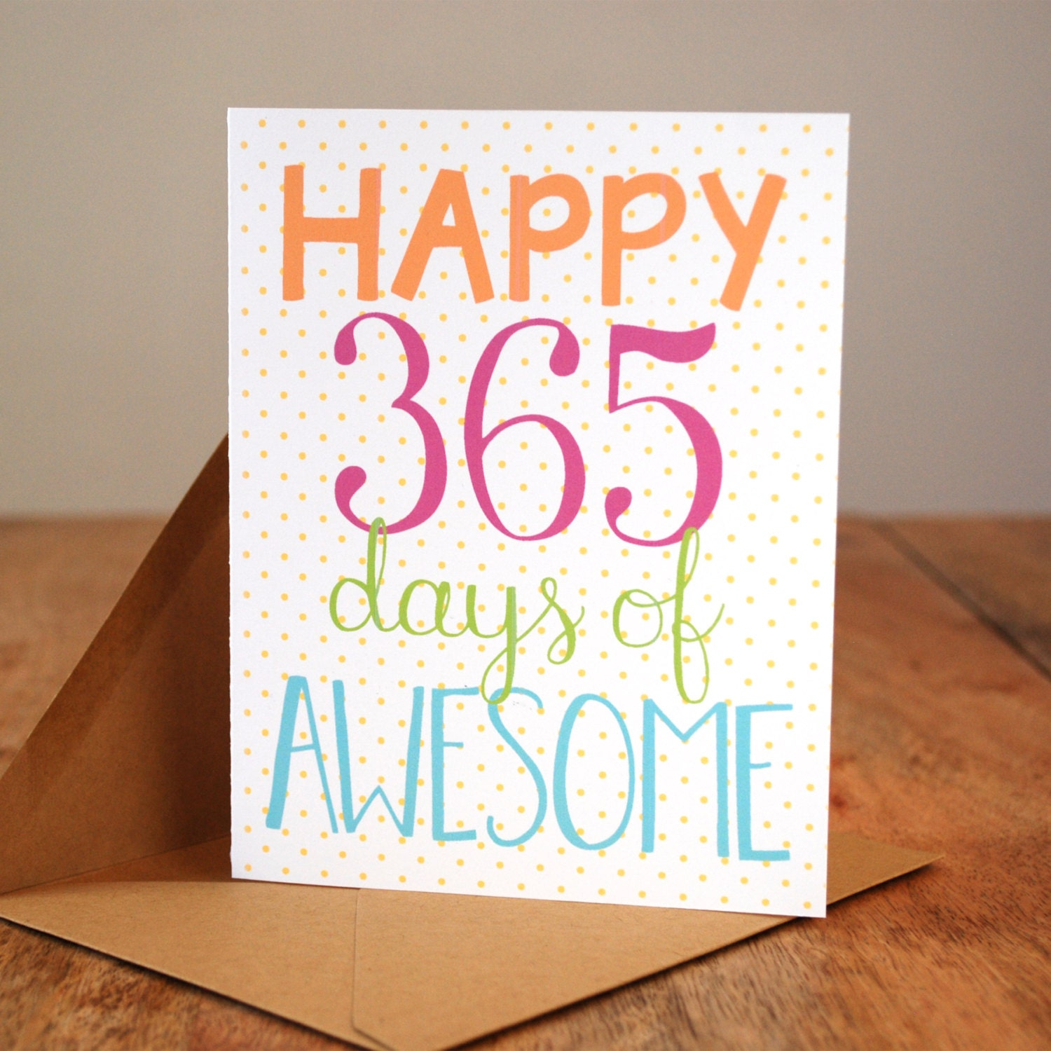 long love quotes for valentines day for him - Happy 365 Days of Awesome First Anniversary Card