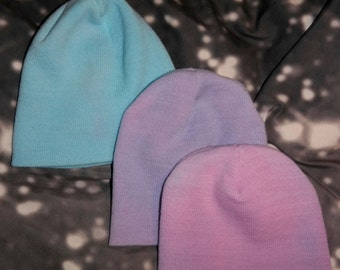 Pastel Colored Beanies (Solid Shades)